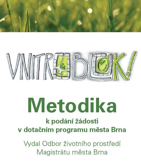 Metodická příručka pro dotační program Vnitroblok!