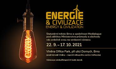 ENERGIE A CIVILIZACE – UNIKÁTNÍ VENKOVNÍ VÝSTAVA VÁS ČEKÁ VE VLNĚNA OFFICE PARKU